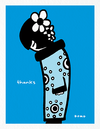 Domo Thank You Card