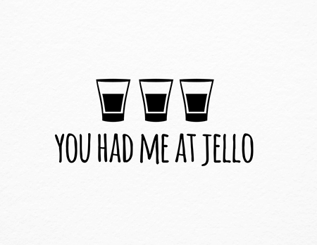 Jello Shot Friendship Card