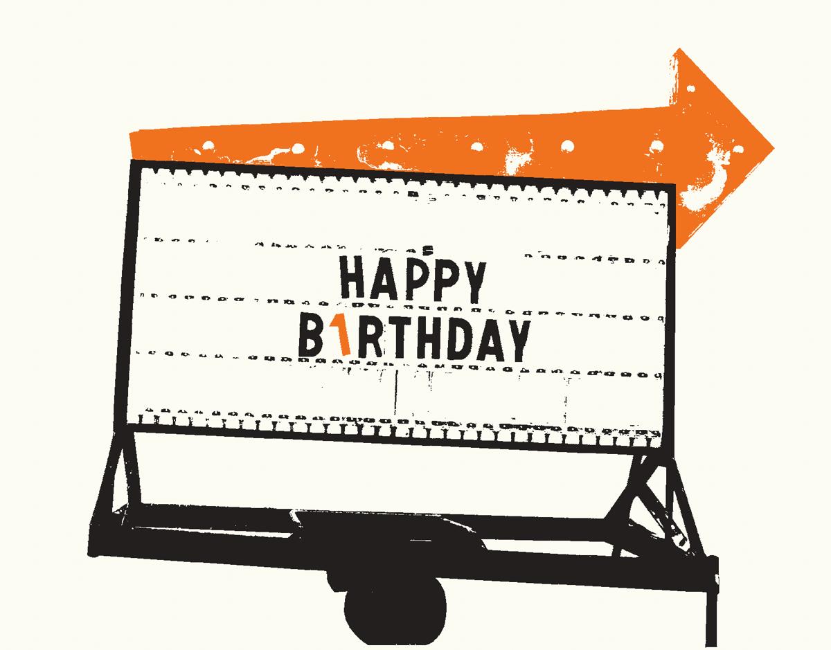 Birthday Sign
