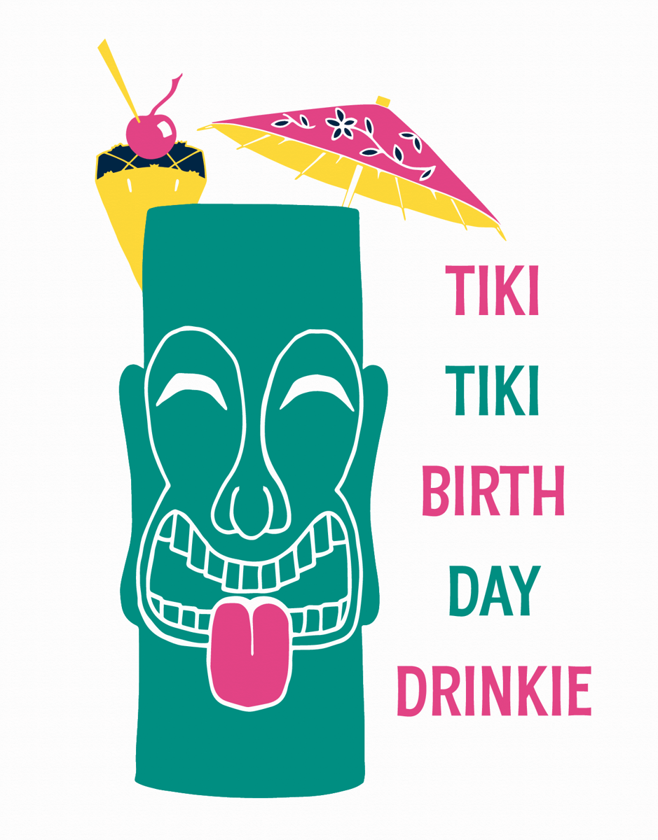Tiki Birthday