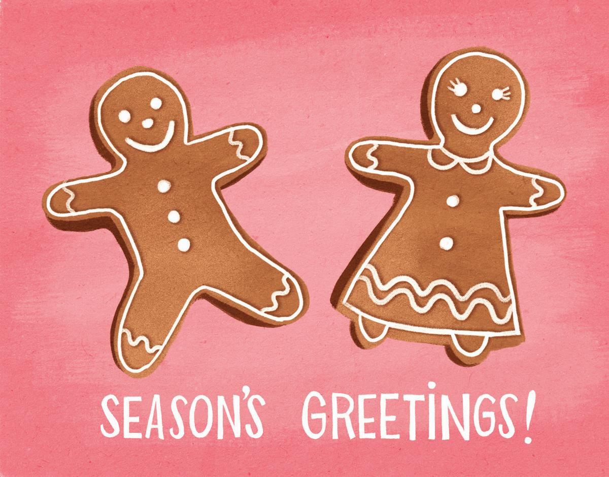 Gingerbread Season's Greetings