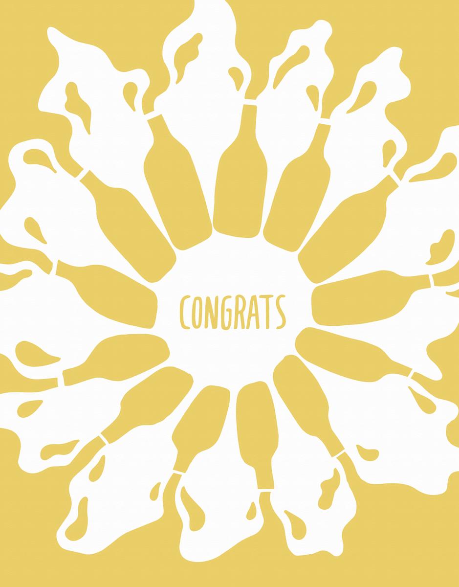 Congrats Bottles