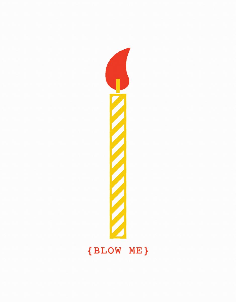 Simple Funny Pun Birthday Card