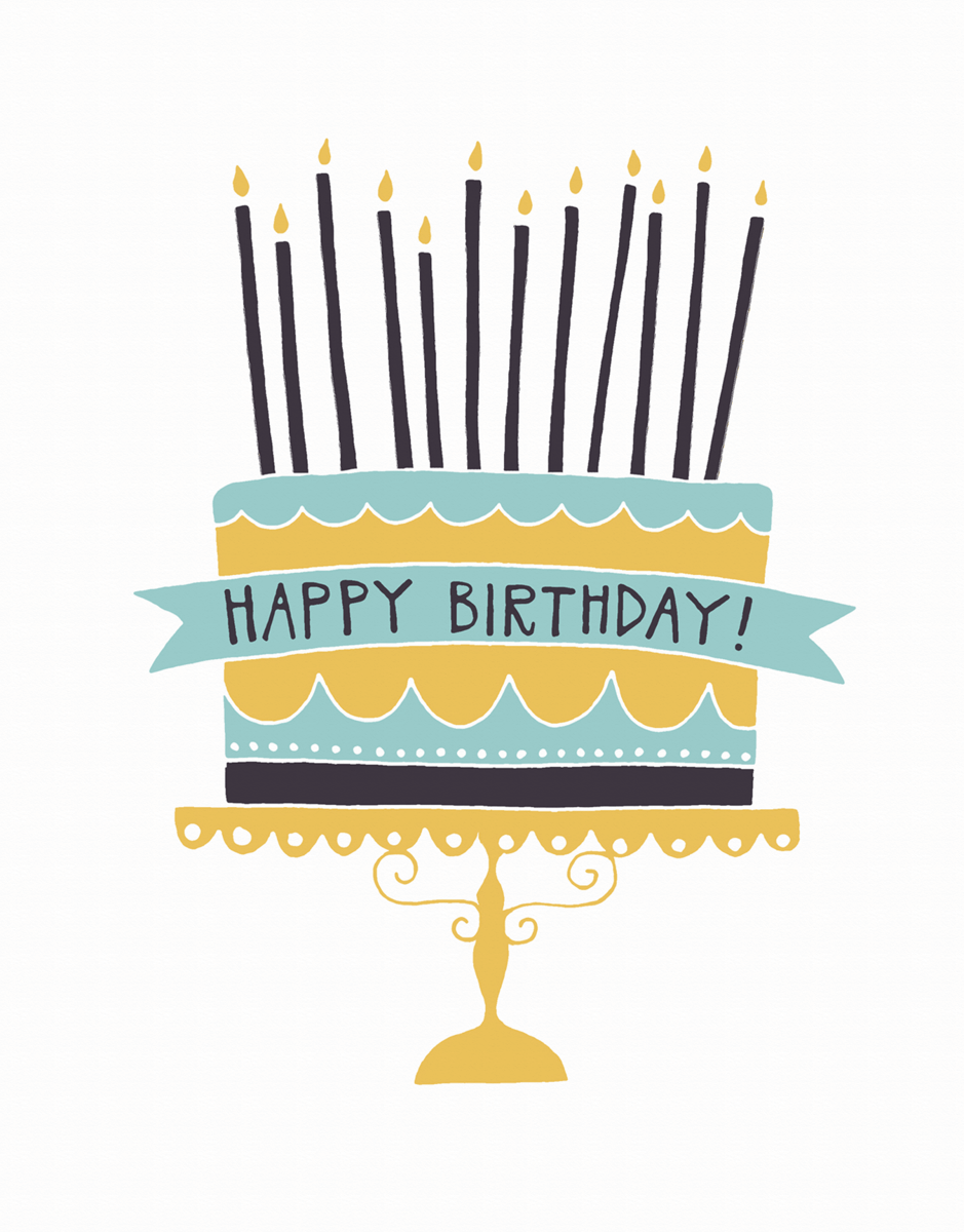 Charming Scalloped Birthday Card