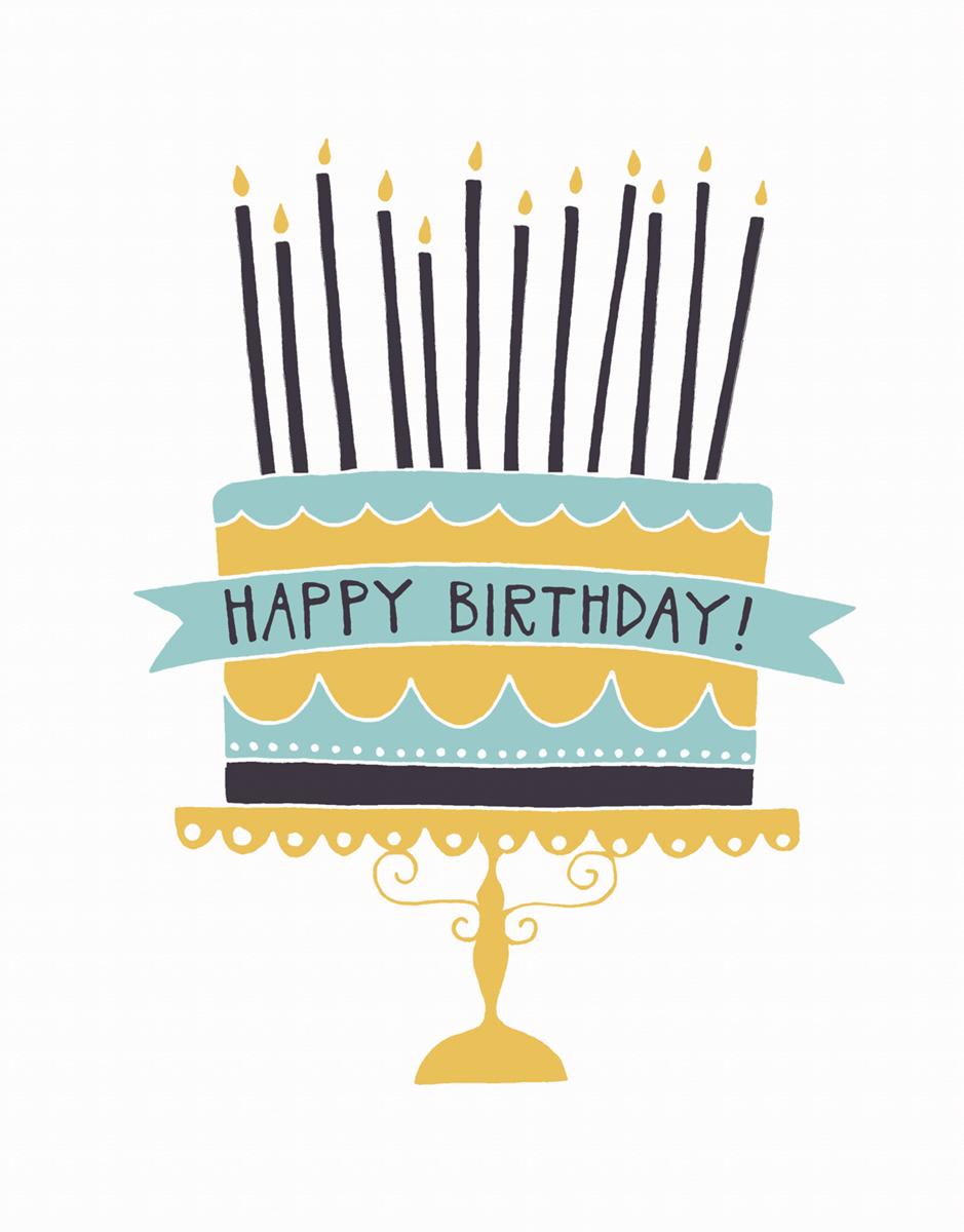 Charming Scalloped Birthday Card