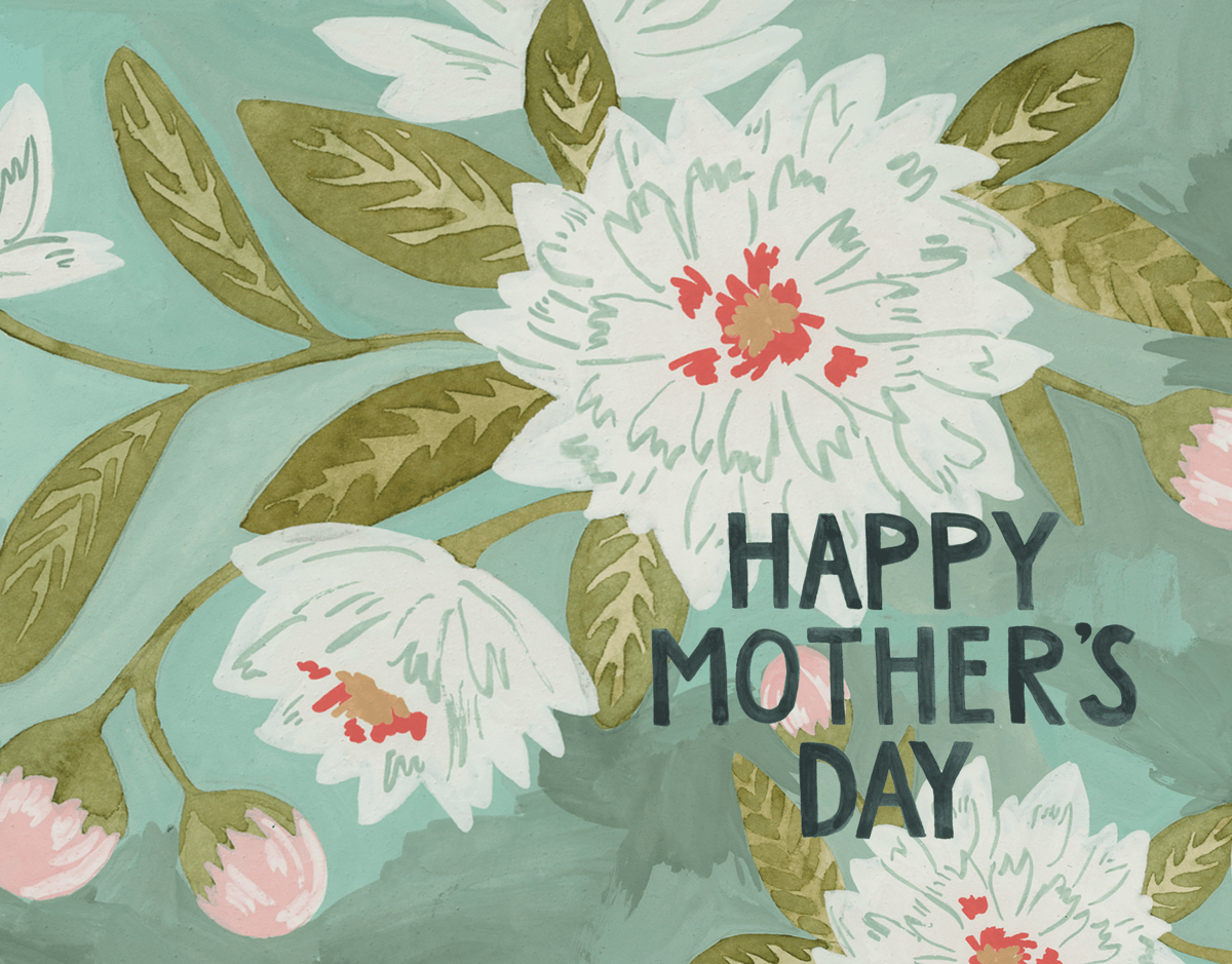 Blooming Mother's Day Card