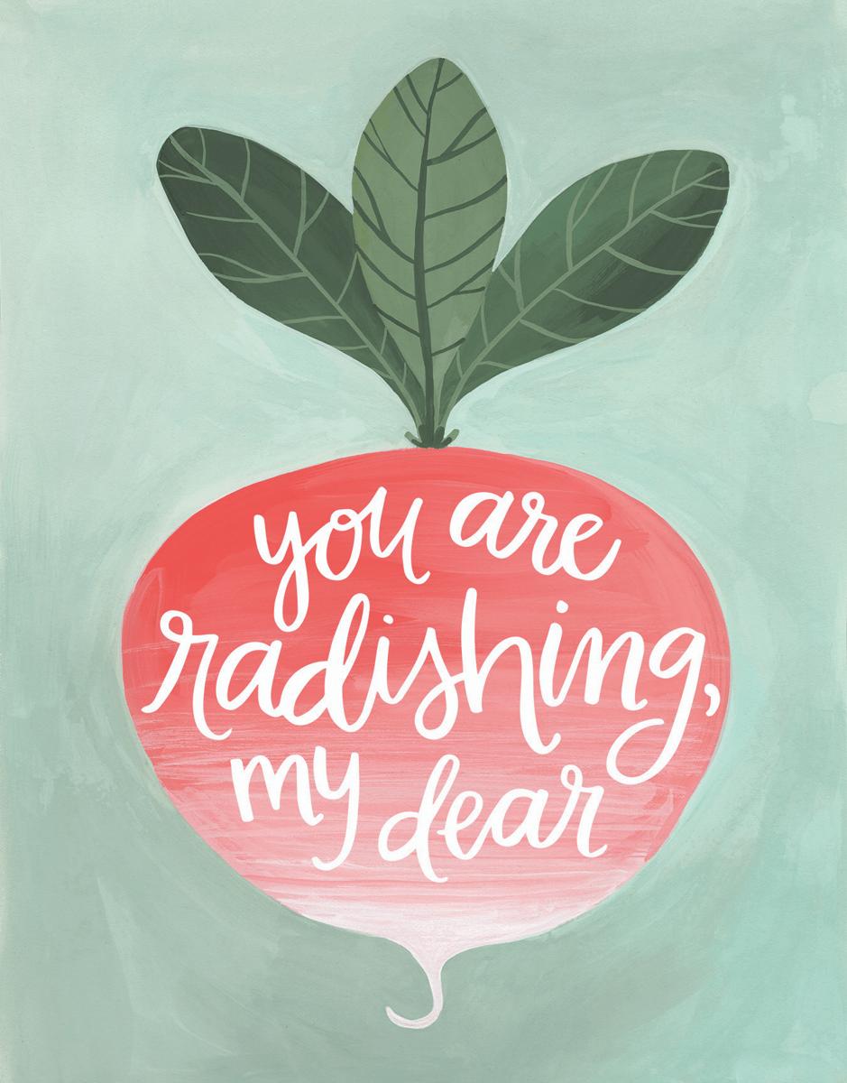 Radishing Dear