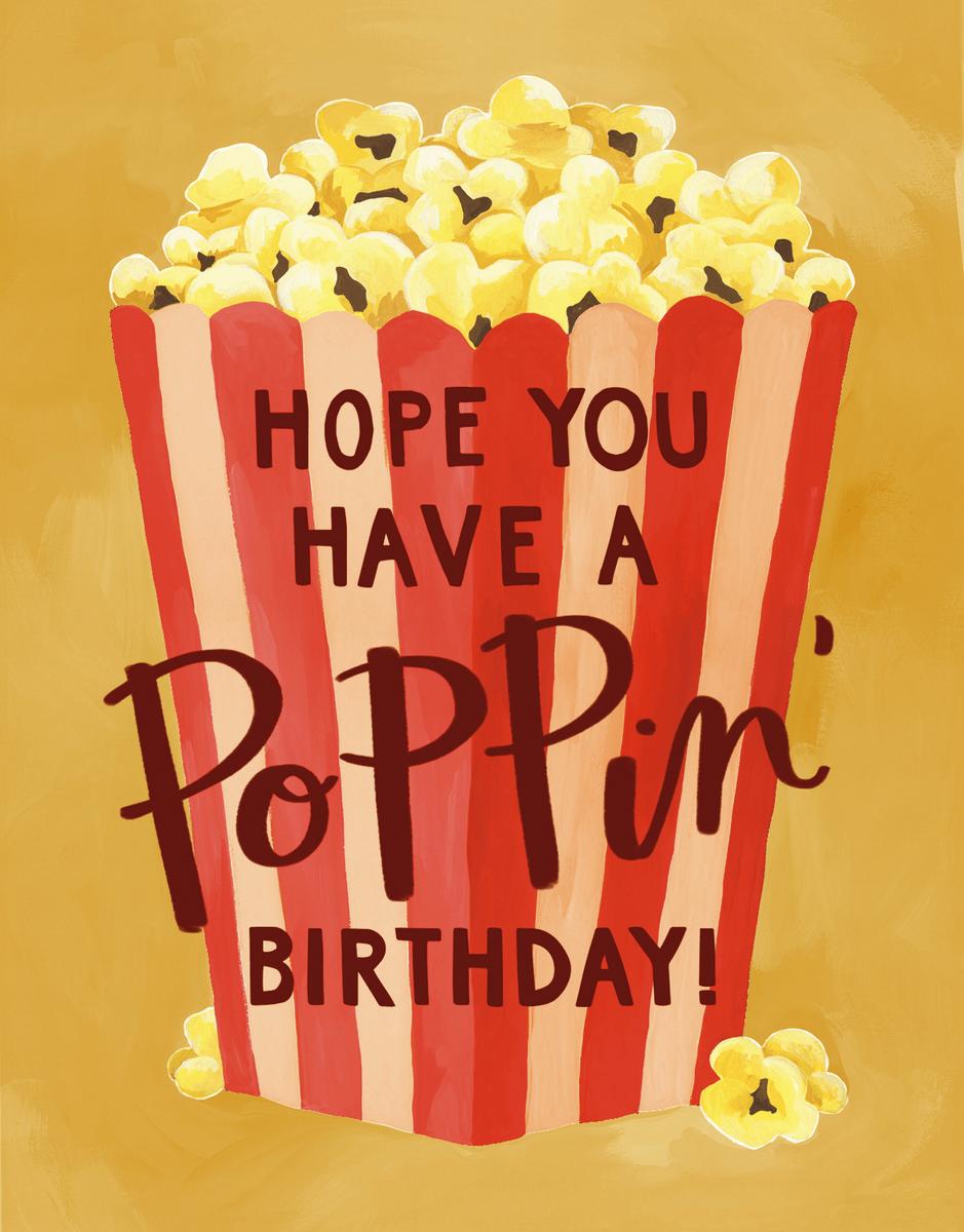 Birthday Popcorn