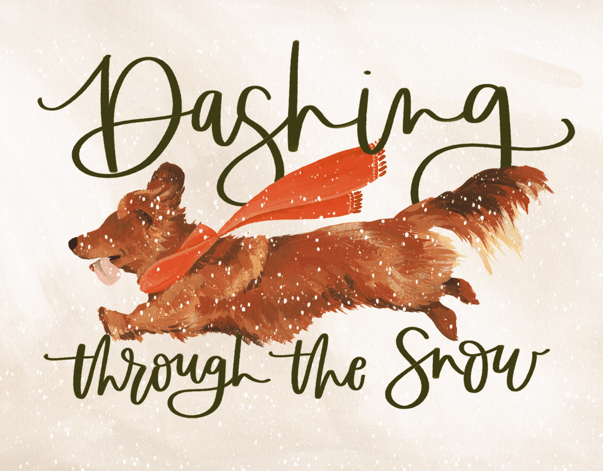 Dashing Dog
