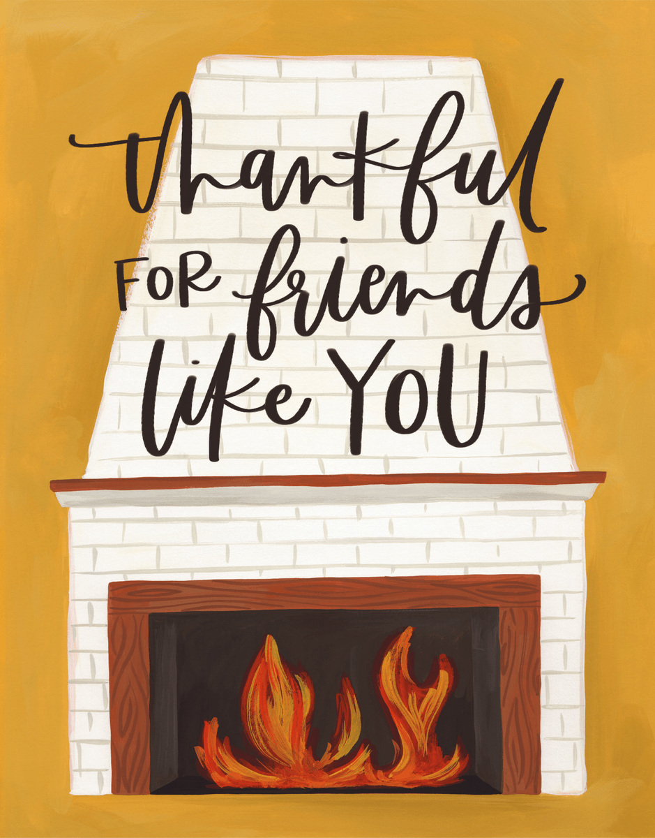 Thankful Fireplace