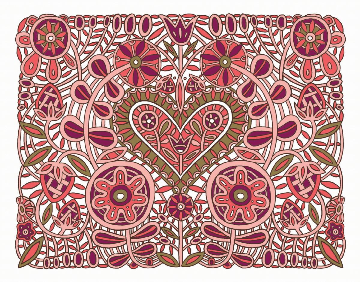 Valentine's Heart Pattern