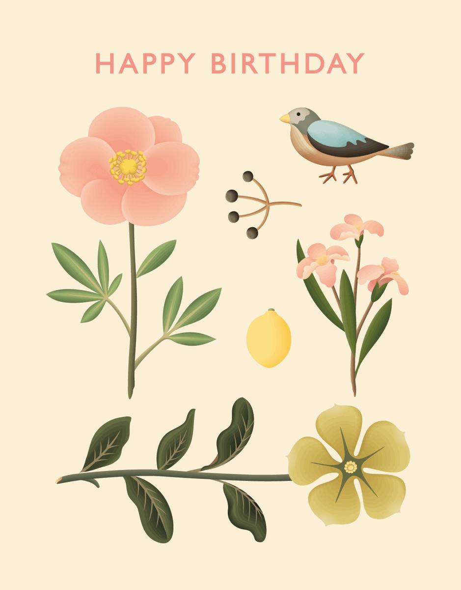Nature Happy Birthday