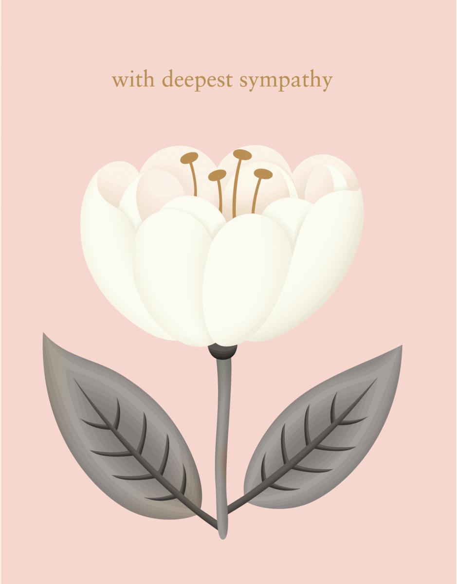 Deepest Sympathy Flower