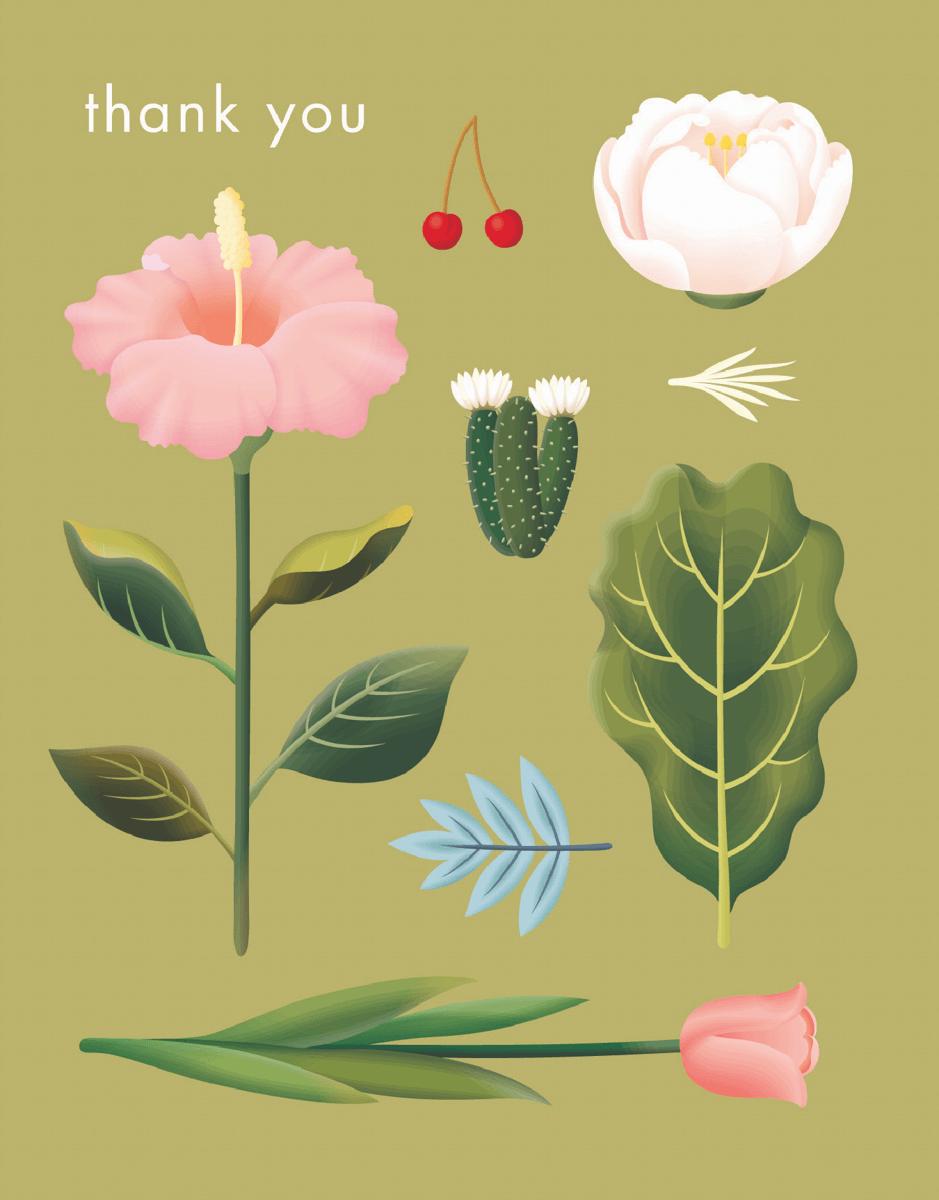 Lovely Garden Thank You