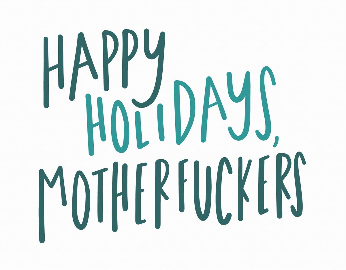 Happy Holidays MF