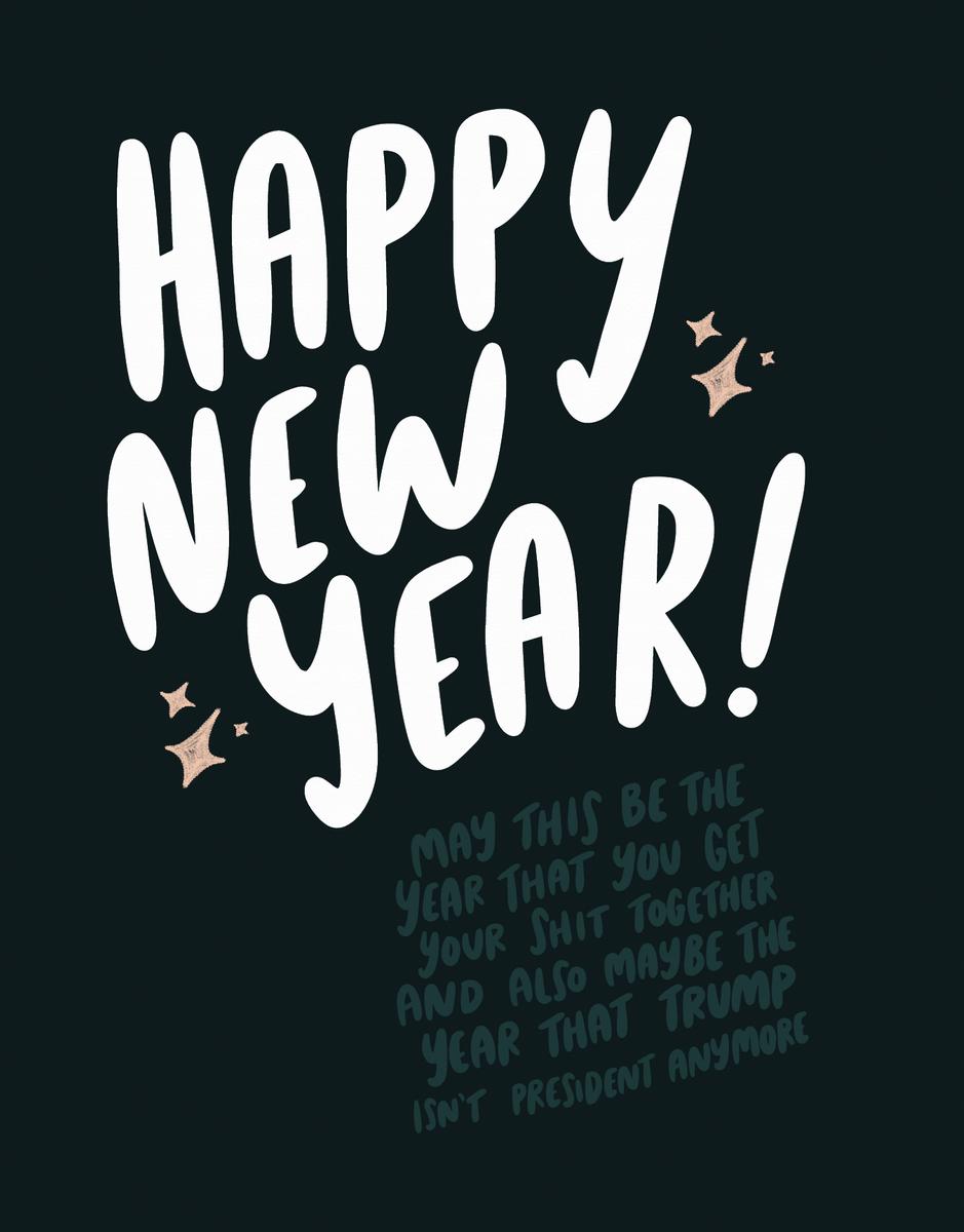 New Year Trump