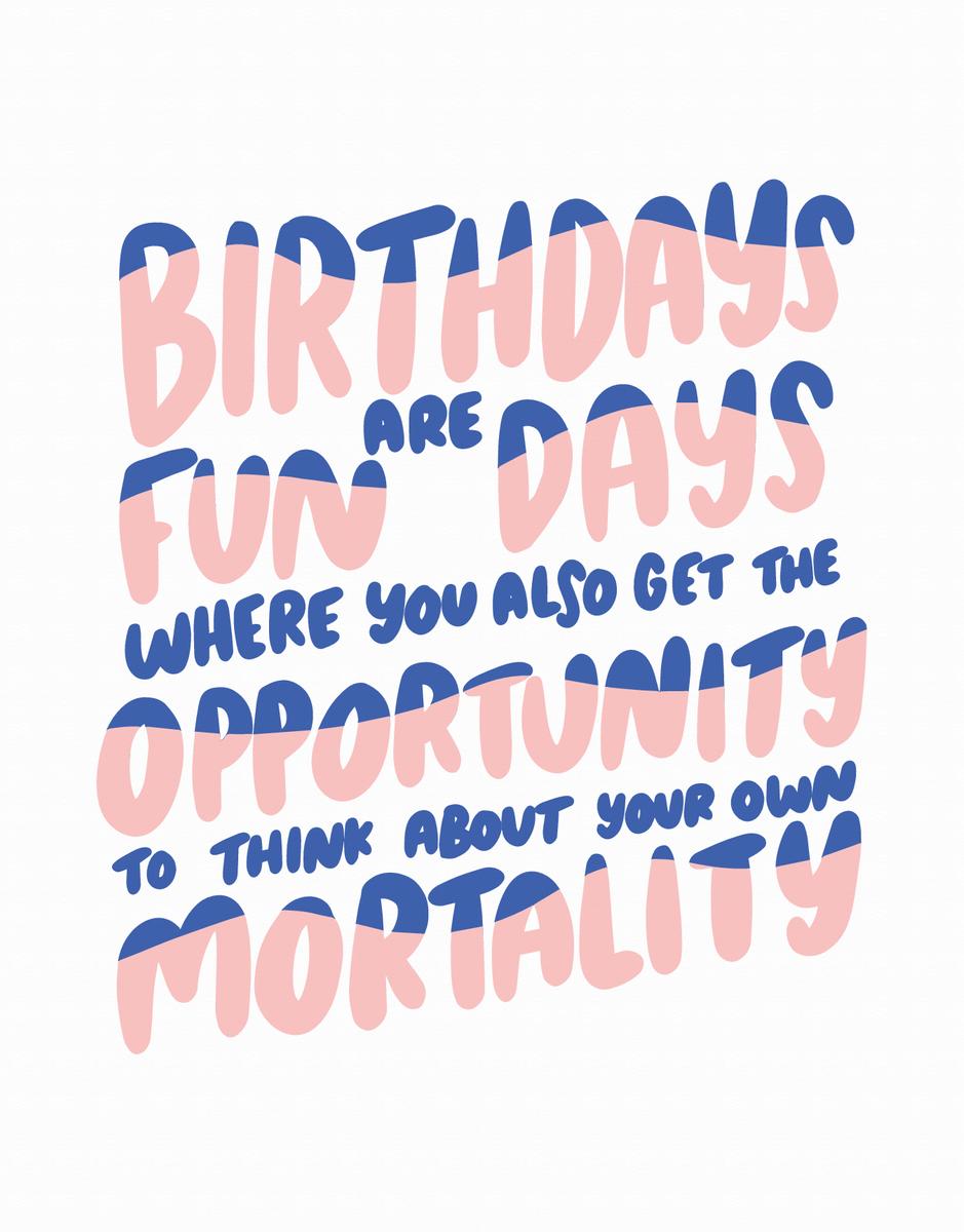 Birthday Mortality