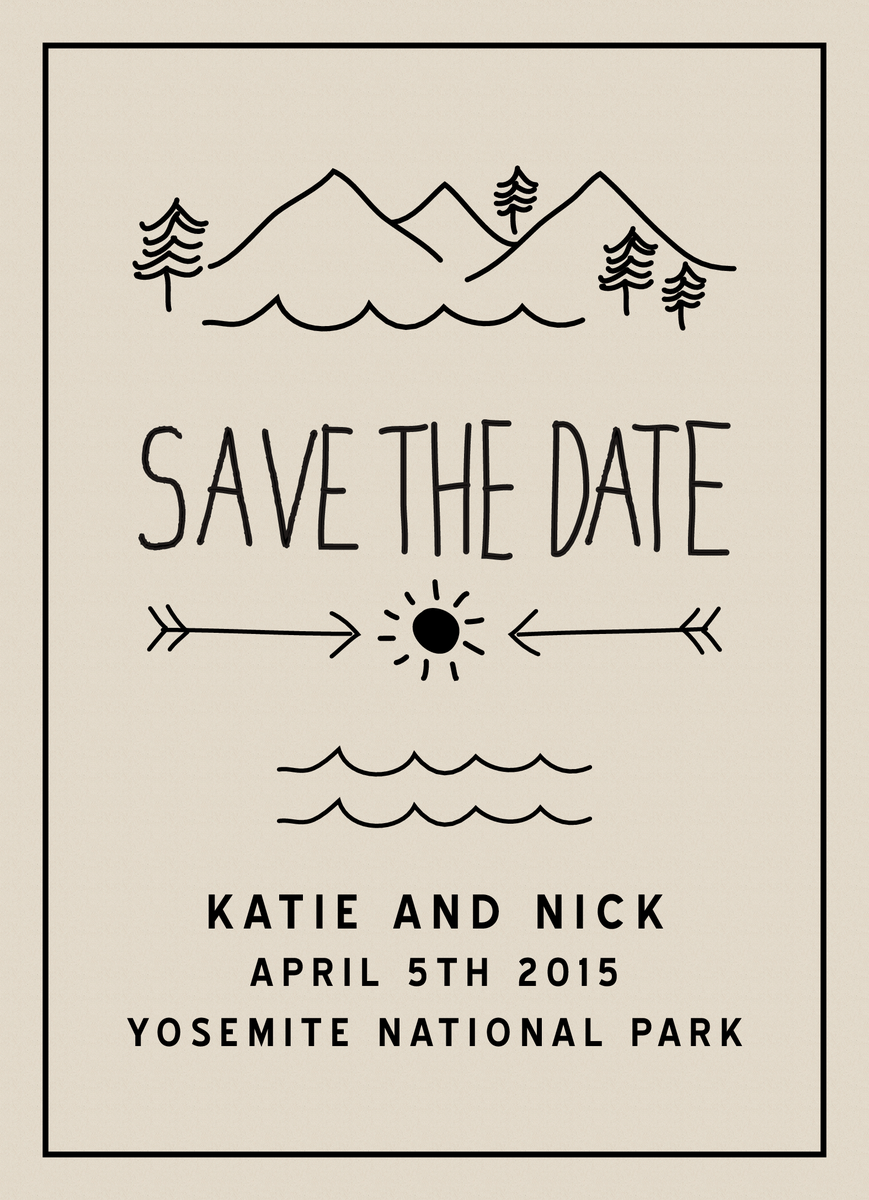 Camp Save the date