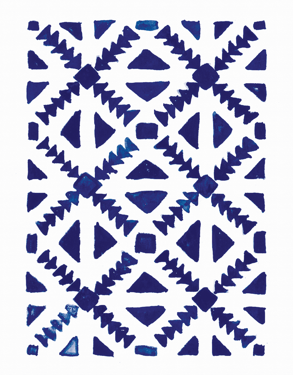 Moroccan Pattern Greeting Card
