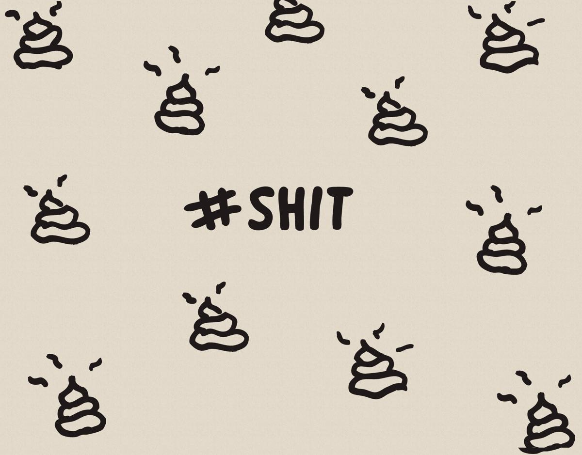 SHIT Hashtag I'm Sorry Card