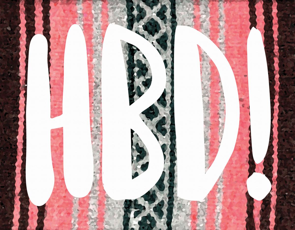 Southwest Happy Birthday Card