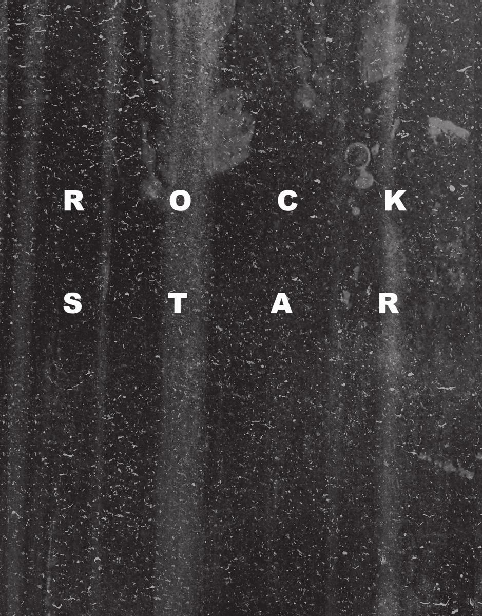 Distressed Rock Star Friend Card