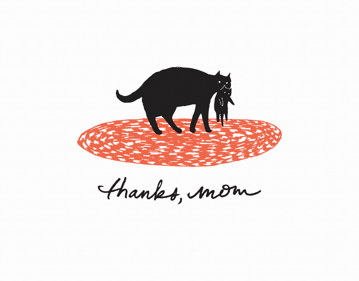Momma Cat Mother's Day Card