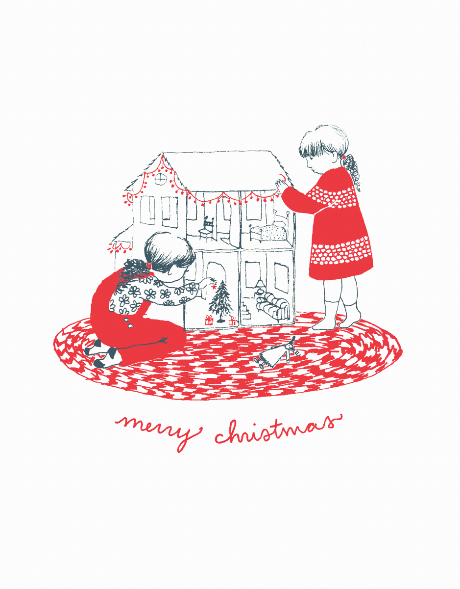 Decorating the Dollhouse