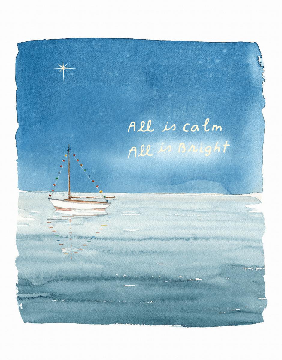 Calm And Bright