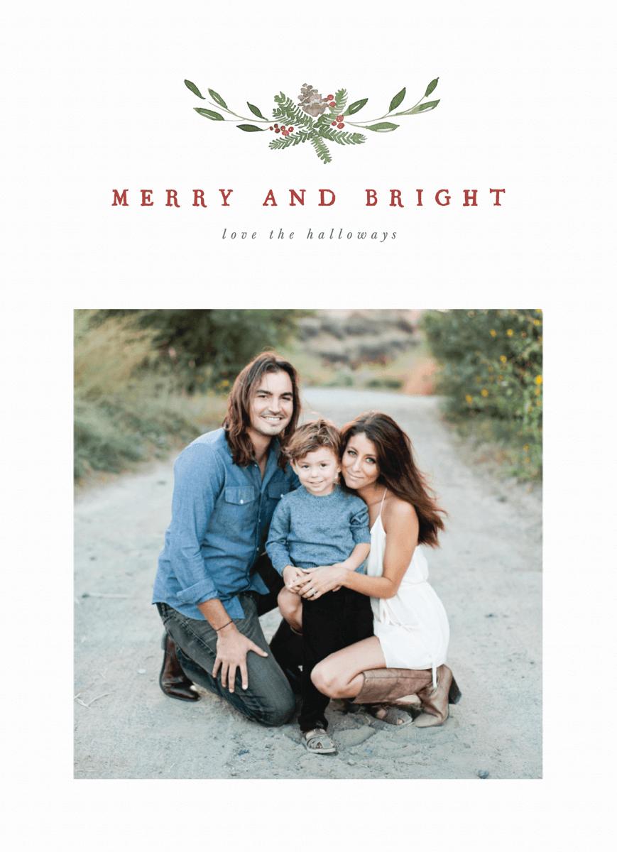 Holiday Photo Centerpiece