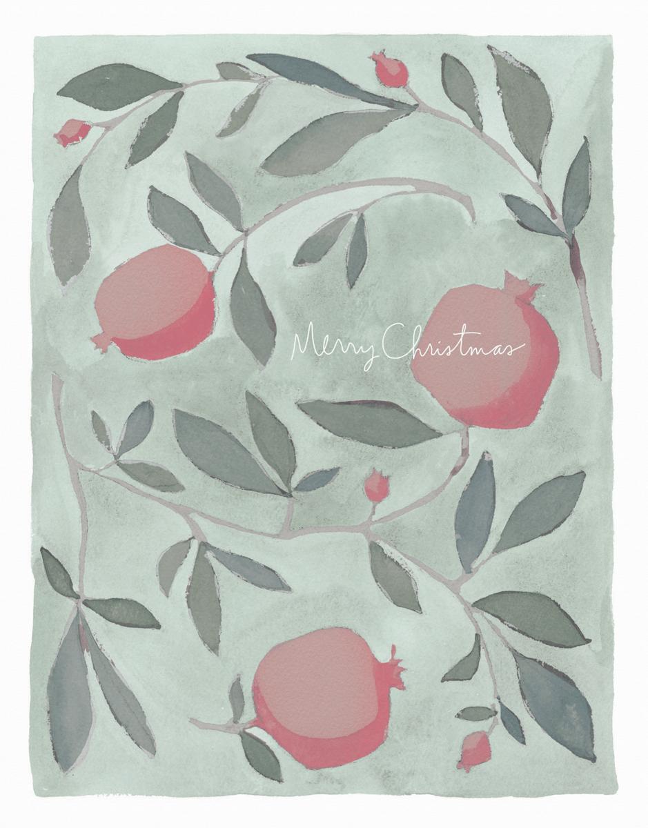 Christmas Pomegranates