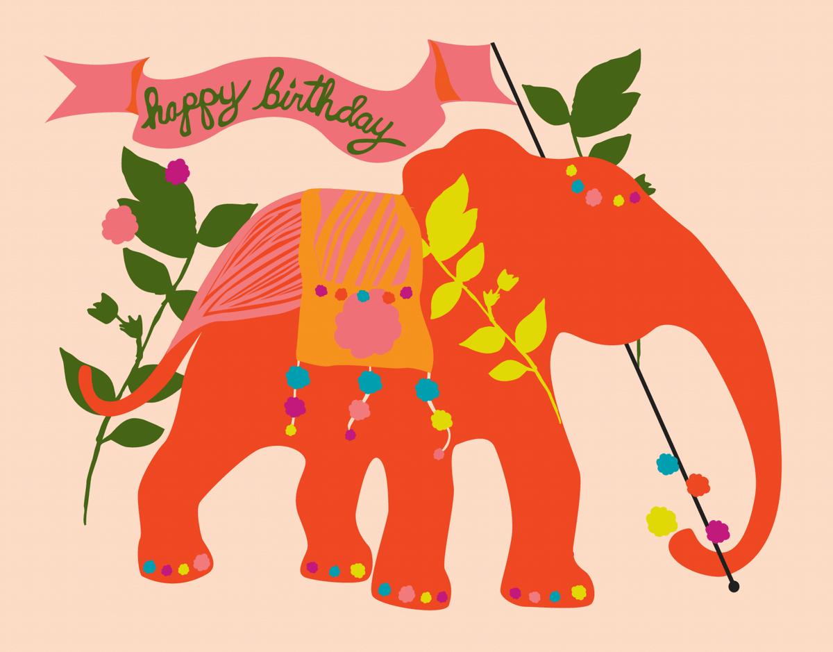 Birthday Elephant