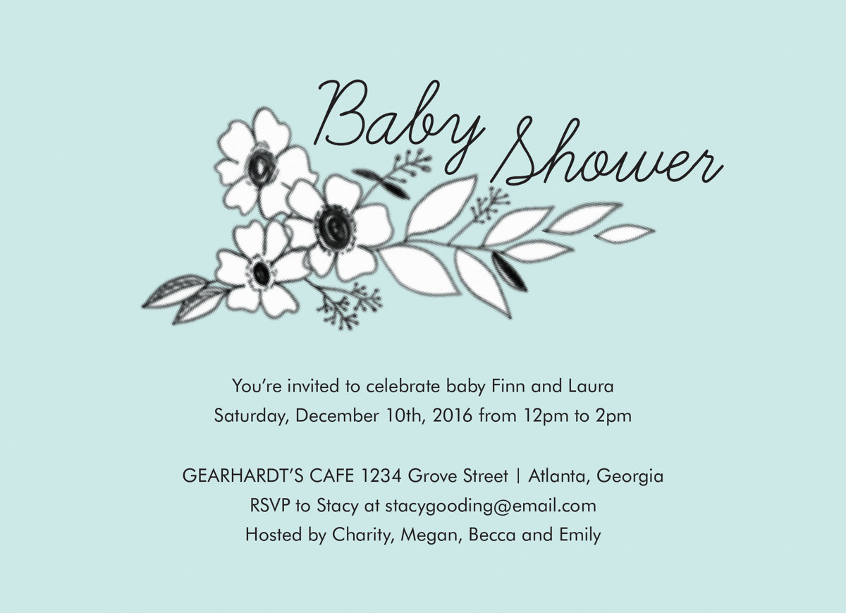 Baby Shower Floral