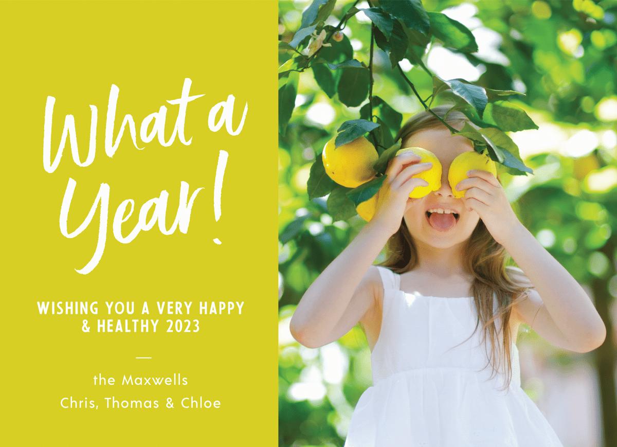 What A Year Lemonade