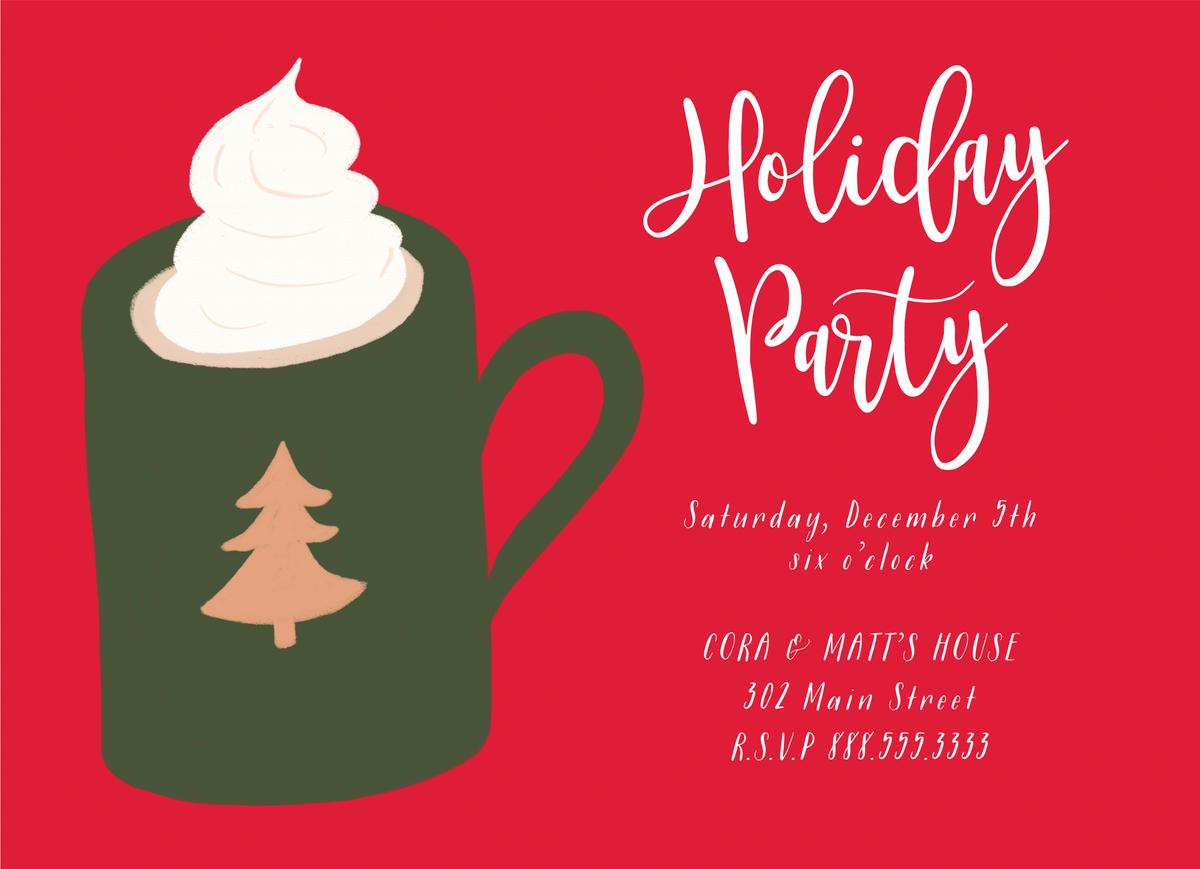 Hot Cocoa Invite