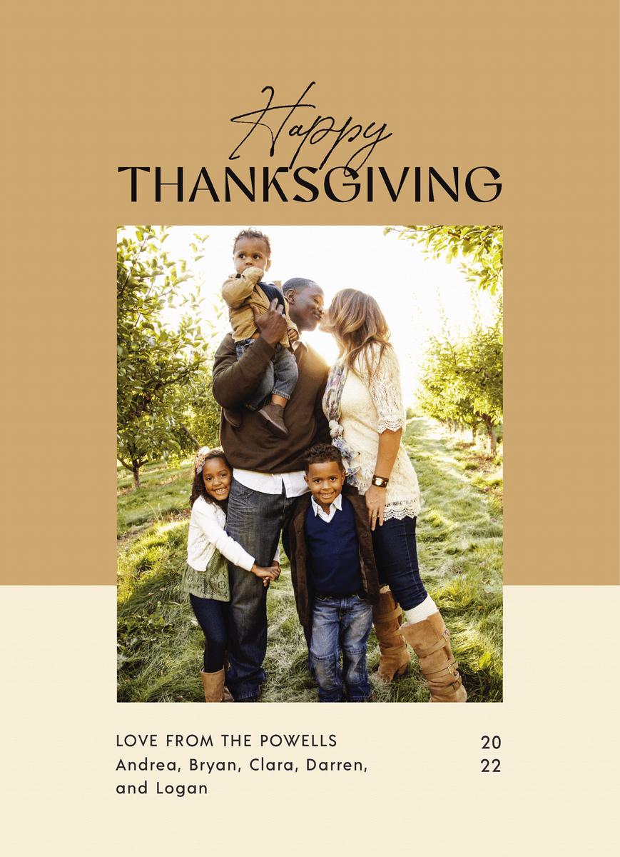 Thanksgiving Duotone
