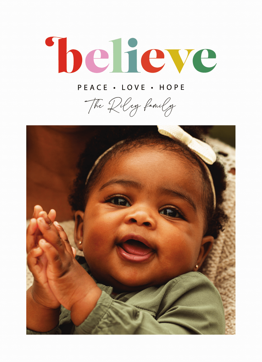 Colorful Believe