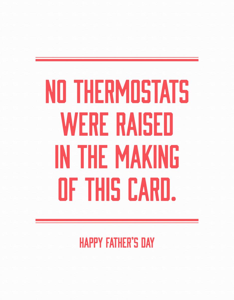 Dad Thermostat