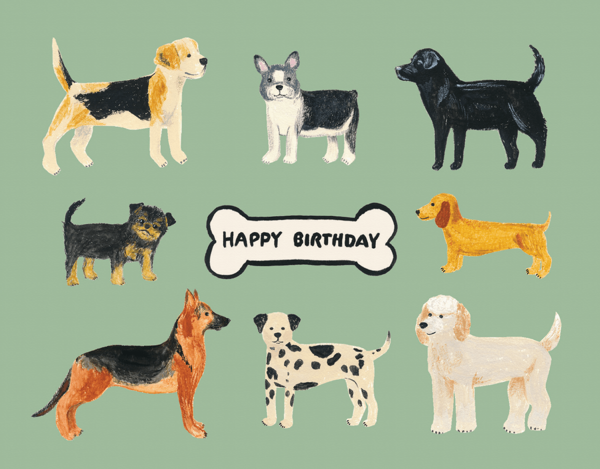 Birthday Dogs By Forage Paper Co