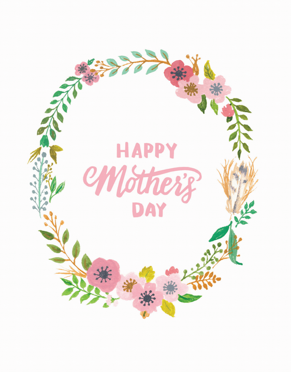 Mother's Day Wreath