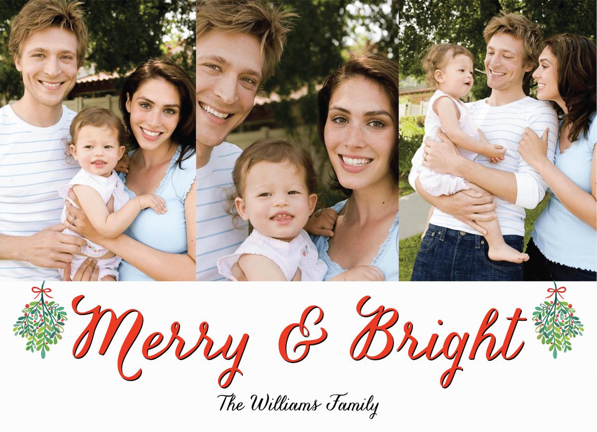 Merry And Bright Mistletoe