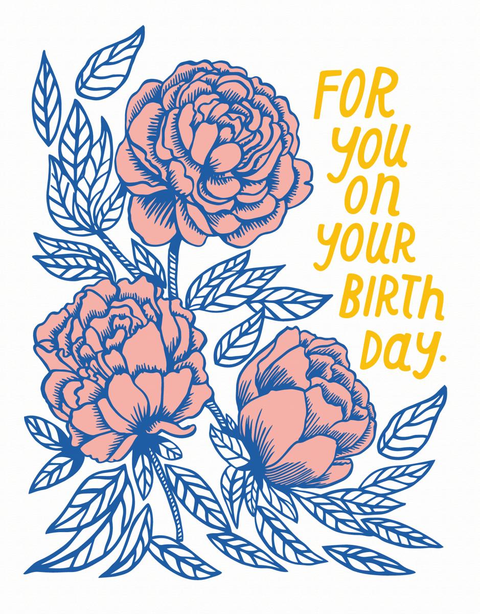 Birthday Rose