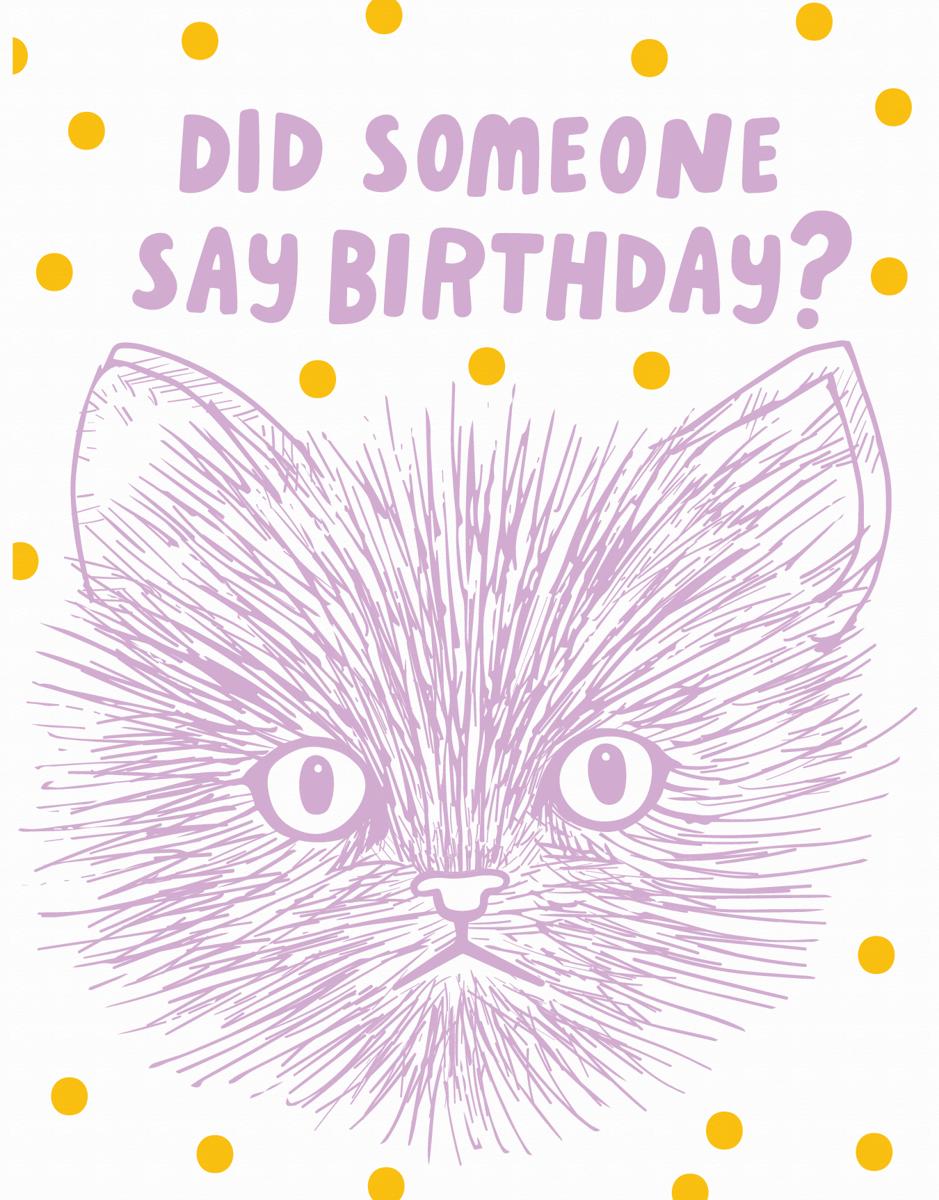 Did Someone Say Birthday?