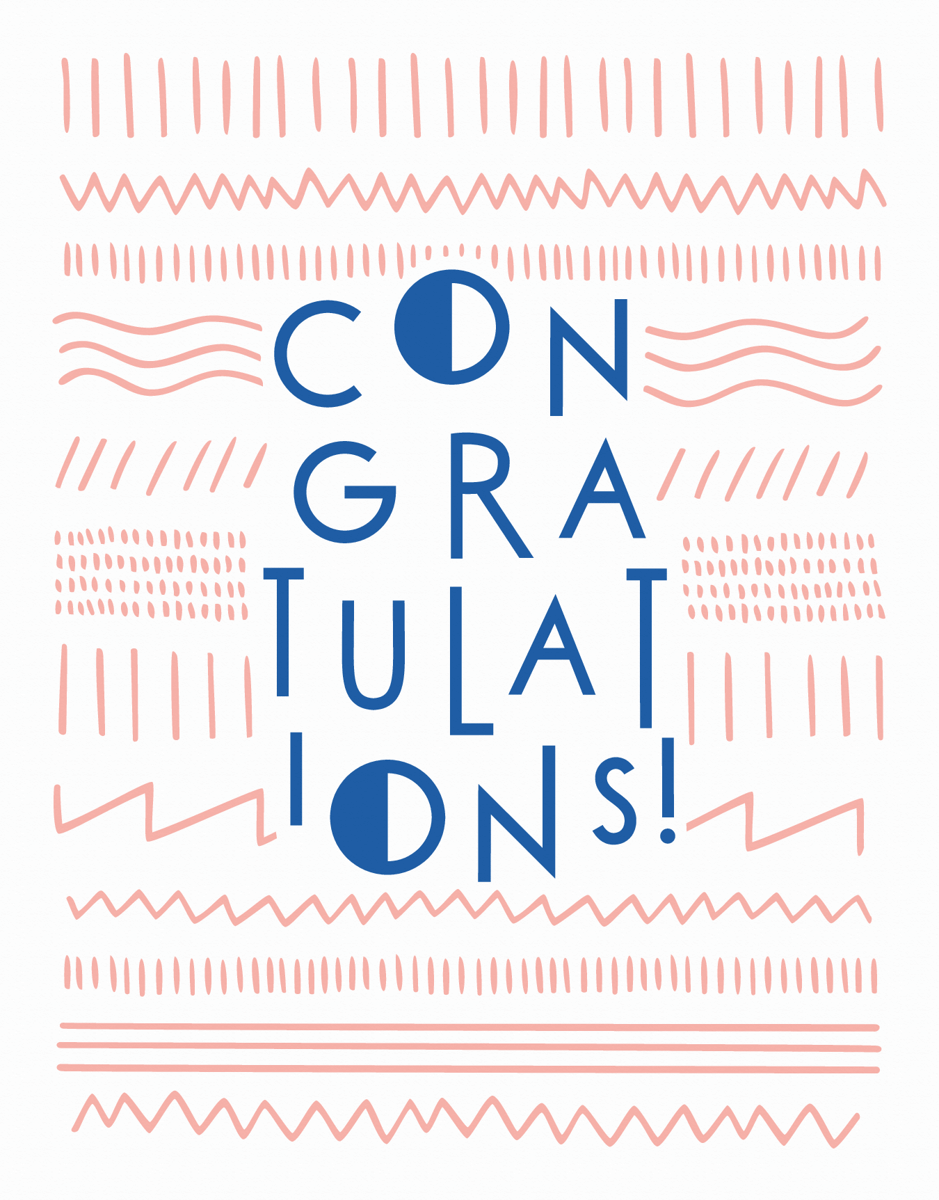 Modern Congrats