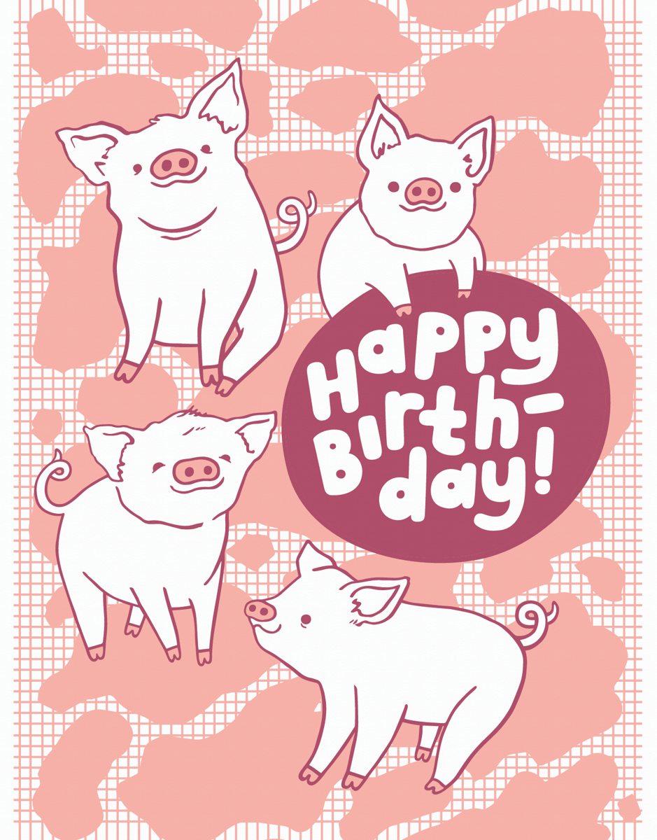 Piggy Birthday