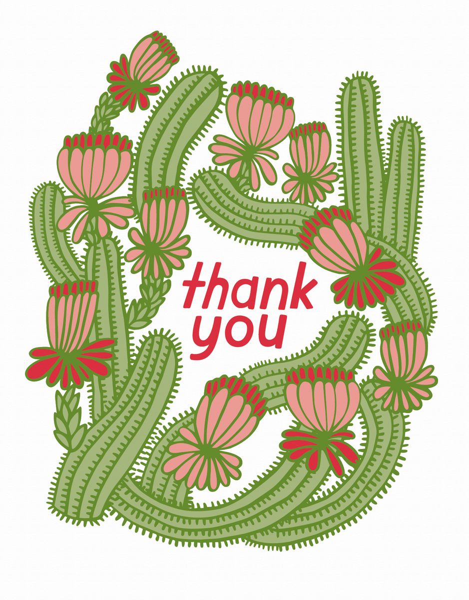 Cactus Thank You