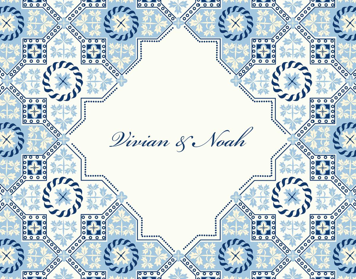 Marrakesh Thank You Card