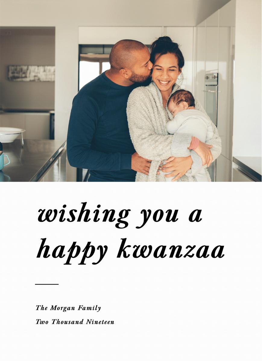 Happy Kwanzaa Type