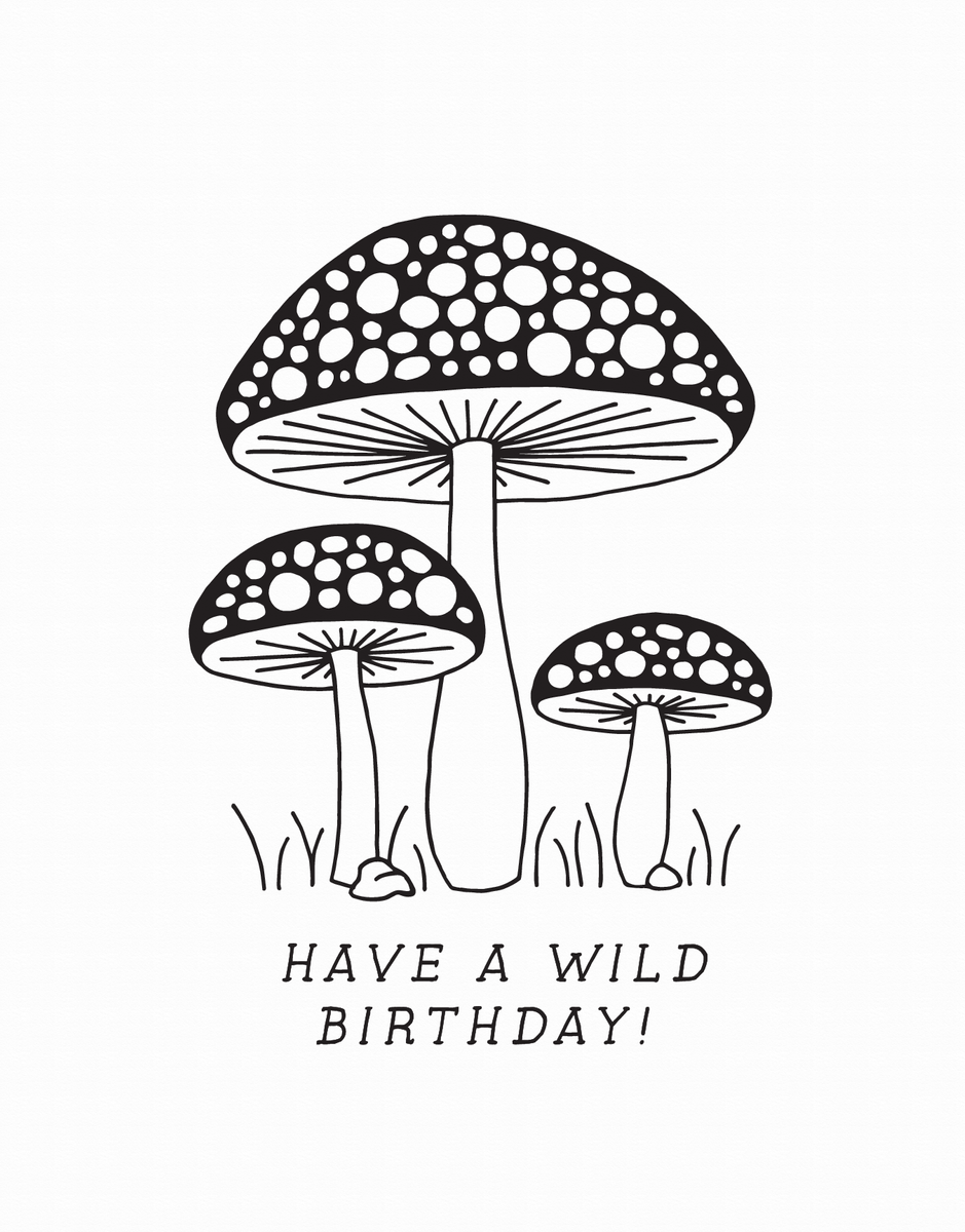 Birthday Shrooms