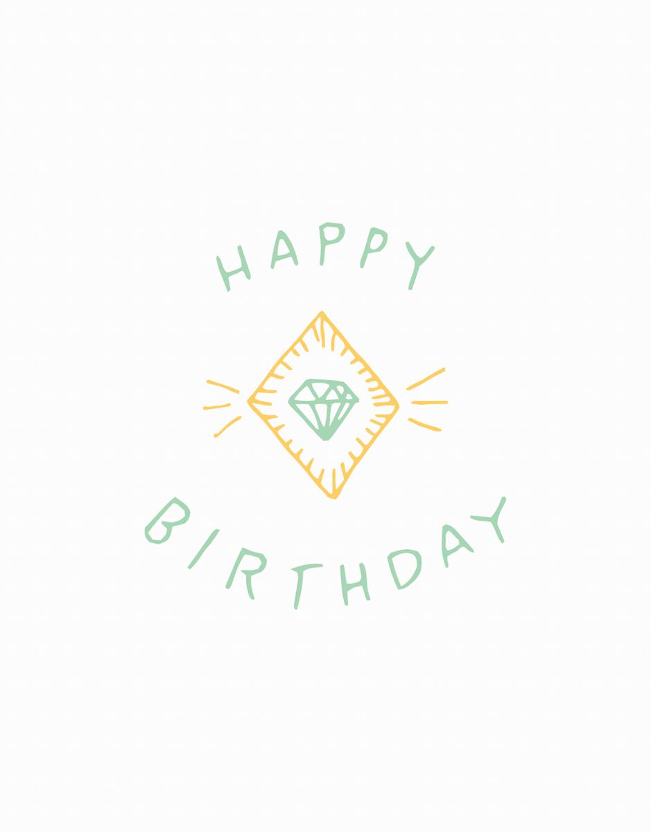 Birthday Gem